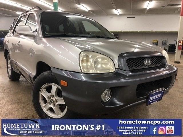 2003 Hyundai Santa Fe Base In Ironton, OH   Hometown Certified Preowned Of  Ironton